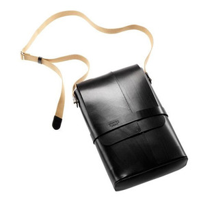 BROOKS SOHO LEATHER SHOULDER BAG (BLACK)