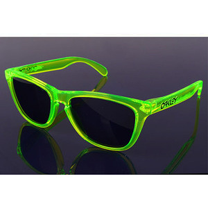 OAKLEY FROGSKINS ACID GREEN GREY