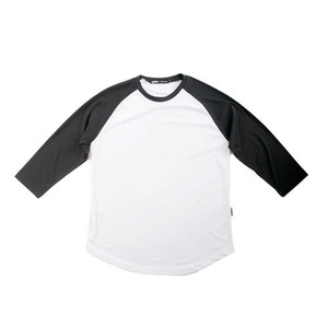 GRIPE NEW 3/4 RAGLAN T-SHIRT(WHITE/BLACK)