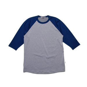 GRIPE ¾ RAGLAN T SHIRTS (NAVY/GREY)