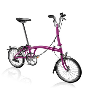 BROMPTON M2L BERRY CRUSH (2015)