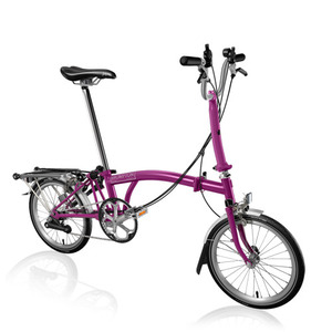 BROMPTON M6R BERRY CRUSH (2015)