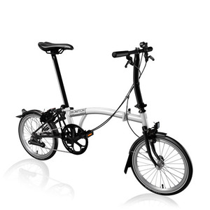 BROMPTON S2L BLACK EDITION WHITE