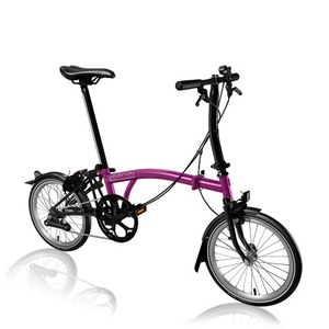 BROMPTON S2L BLACK EDITION BERRY CRUSH
