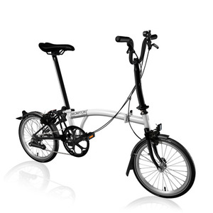 BROMPTON M2L BLACK EDITION WHITE
