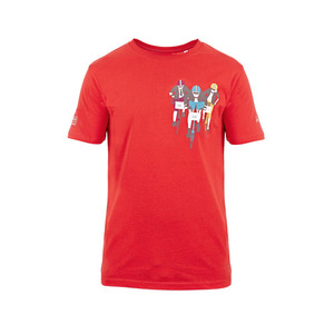 BROMPTON BWC T SHIRT RED(MAN)