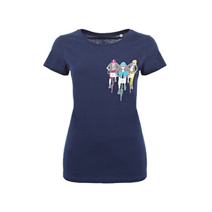 BROMPTON BWC T SHIRT NAVY(WOMAN)