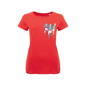 BROMPTON BWC T SHIRT RED(WOMAN)
