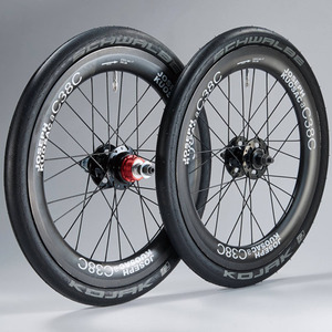 JOSEPH KUOSAC CARBON ALLOY WHEELSET FOR BROMPTON