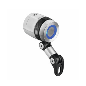 B&M LUMOTEC IQ-X T SENSO PLUS LIGHT SILVER