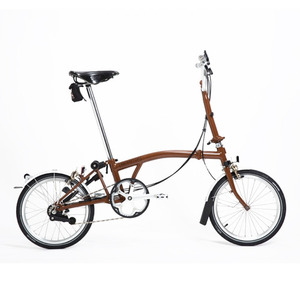 BROMPTON M6L LINE EDITION (BROWN/BROWN)