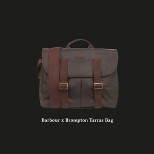 BROMPTON X BARBOUR TARRAS BAG