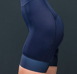 GRIPE ORDINARY BIBSHORT WOMAN NAVY