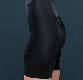 GRIPE ORDINARY BIBSHORT WOMAN BLACK