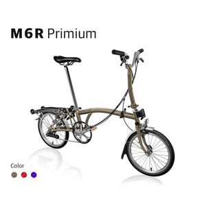 BROMPTON M6R RAW LACQUER 2019