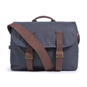 BROMPTON BARBOUR TARRAS BAG NAVY