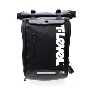 T-LEVEL Infinity Rolltop Backpack (블랙)