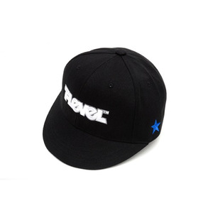T-LEVEL Logo Fitted Cap (블랙)