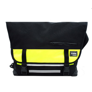 T-LEVEL Messenger Bag (BLACK/LIME)