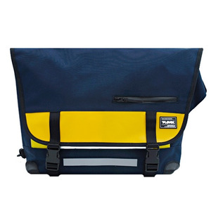 T-LEVEL Messenger Bag (NAVY/YELLOW)
