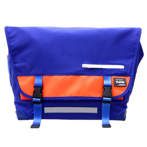 T-LEVEL Messenger Bag (BLUE/ORANGE)