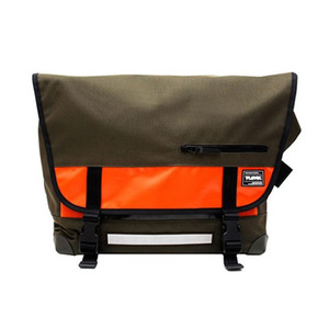 T-LEVEL Messenger Bag (OLIVE/ORANGE)