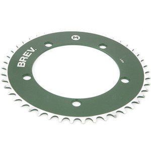BREV.M COLOR CHAINRING (GREEN)
