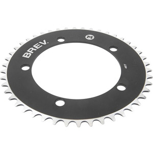 BREV.M COLOR CHAINRING (BLACK)