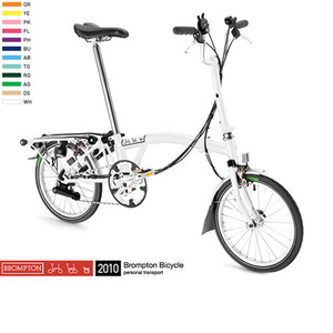 BROMPTON M6R (OPTION COLOR) (2010)