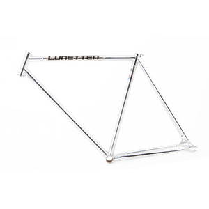 LUNETTEN CONCRETE CHROME FRAME SET
